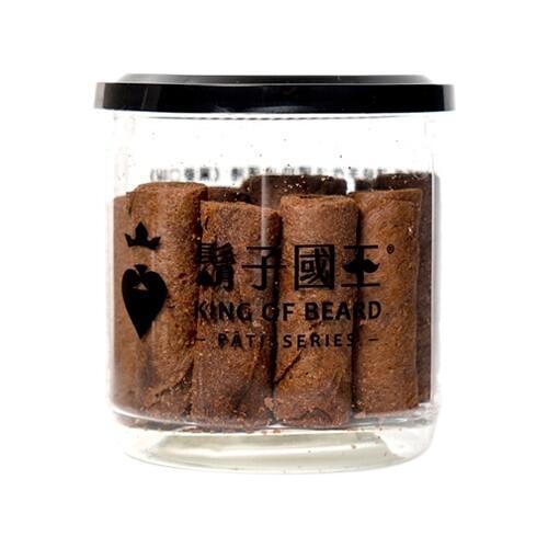 King Of Beard 鬍子國王 頂級手工法國奶油蛋捲(輕巧隨手瓶)-巧克力(140g)『STYLISH MONITOR』D760157