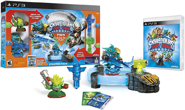 PS3 Skylanders Trap Team Starter Pack(美版代購)