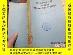 二手書博民逛書店modulation罕見and coding in inform