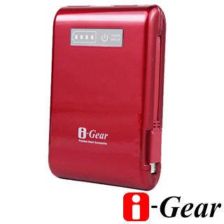 [NOVA成功3C]I-Gear 艾吉爾 Handy 10400mAh (烈焰紅) 便利充行動電源   行動電源買十送一