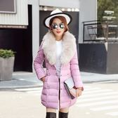 羽絨外套-長版秋冬保暖寬鬆加厚女夾克4色73it31【時尚巴黎】