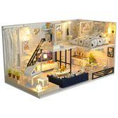 diy小屋閣樓別墅手工制作小房子模型拼裝中國風創意生日禮物女生 歌莉婭