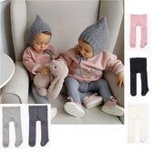 童襪 棉質舒適褲襪 女童 保暖 舒適 素色 膝蓋止滑 五色 寶貝童衣