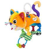 【奇買親子購物網】Lamaze 拉梅茲 嬰幼兒玩具-柔軟喵喵小貓咪