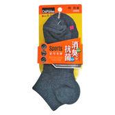 蒂巴蕾消臭抗菌運動襪7891鐵灰【康是美】