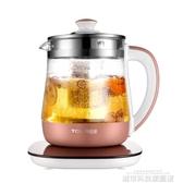 養生壺全自動加厚玻璃多功能電熱燒水壺花茶家用煎煮茶器具 城市科技