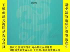 二手書博民逛書店【韓文原版】경제통계연보1989罕見Economic Statistics Yearbook 1989 (1989