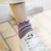 襪子花邊襪子女中筒襪日系純色木耳邊襪子夏季薄款公主襪可愛短襪夏天 聖誕節