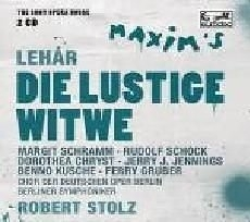 歌劇殿堂 73 雷哈爾:風流寡婦 2CD V.A. Lehar  Die Lustige Wit