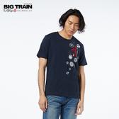 Big Train 龍之前田慶次圓領短袖-男-Z80127