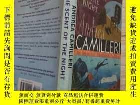 二手書博民逛書店英文原版;罕見ANDREA CAMILLERI THE SCENT OF THE NIGHTY14152