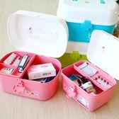 嬰兒藥箱寶寶小號藥品藥物收納盒便攜兒童藥箱大號家庭家用醫藥箱 k-shoes