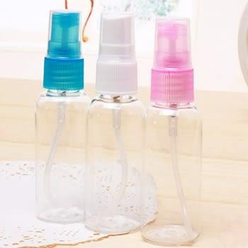 easy 透明噴霧瓶/防蚊液隨身攜帶瓶/化妝水分裝瓶/小噴瓶/攜帶香水瓶50ml 樂馨生活館
