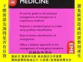 二手書博民逛書店【罕見】2007年出版 Emergencies In Respi