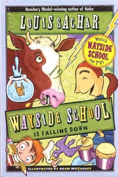 (二手書)Wayside School Is Falling Down