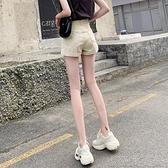 牛仔短褲女寬鬆高腰顯瘦2021夏季新款外穿a學生闊腿熱褲 快速出貨