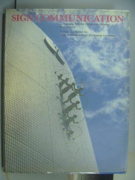 【書寶二手書T2/設計_QMW】Sign Communication_1989年