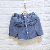 棒棒糖童裝(B102074)夏女大童鬆緊腰牛仔裙褲 120-165