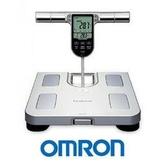 OMRON歐姆龍體重體脂計HBF-371(銀白)+計步器