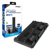 [哈GAME族]免運費 可刷卡●充電指示燈設計●DOBE PS4 TP4-18119 多功能遊戲主機散熱底座 遊戲收納架