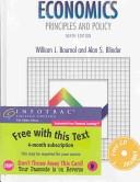 二手書博民逛書店 《Economics: Principles and Policy》 R2Y ISBN:0030354579│South-Western Pub