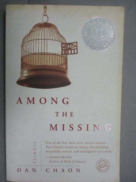 【書寶二手書T5/原文小說_CGR】Among the Missing_Chaon, Dan