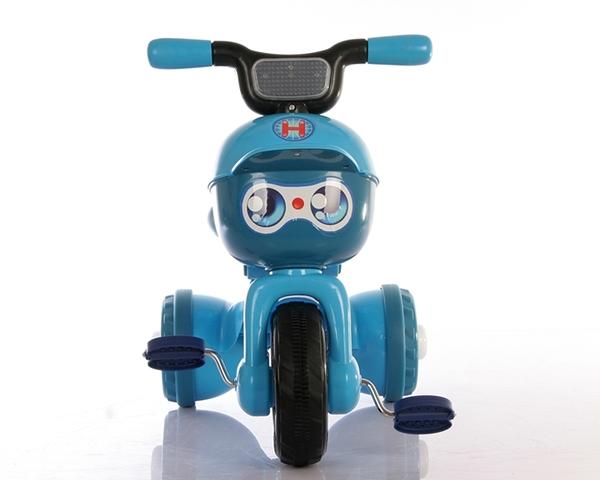 貝樂康兒童三輪車腳踏車可摺疊帶音樂帶燈光2-3-4-5歲寶寶自行車-完美