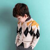 新年大促童裝毛衣兒童針織衫開衫3歲寶寶4男童秋裝2018新款線衣外套冬裝 森活雜貨
