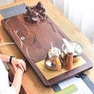 茶具套裝簡約功夫茶盤家用現代客廳實木茶道大托盤全自動一體茶海