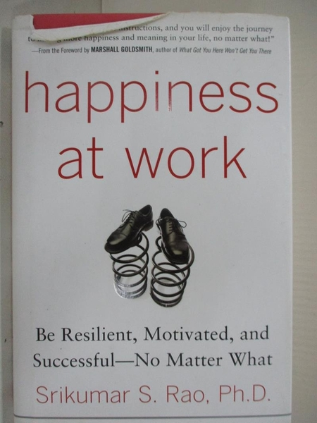 【書寶二手書T1/原文書_C8Q】Happiness at Work: Be Resilient, Motivated, and…