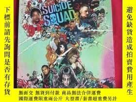 二手書博民逛書店Suicide罕見Squad 電影場刊Y178456 DC 出版