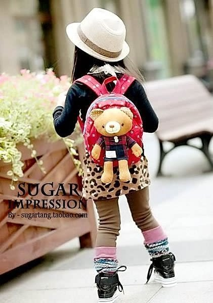 【發現。好貨】2015韓國防走失包 可愛小熊小兔背包. 兒童防走失包 附防走失帶數量有限