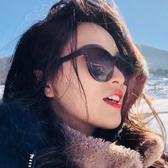 新款太陽眼鏡網紅款防紫外線墨鏡女GM韓版潮街拍ins圓臉 潮流衣舍