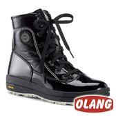 【義大利 OLANG】女 SOUND 保暖雪靴『黑色』【內厚鋪毛 / 防滑鞋底】 雪鞋 雪地靴 OL-1801