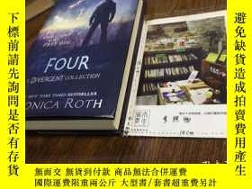 二手書博民逛書店英文原版罕見four : a divergent collect