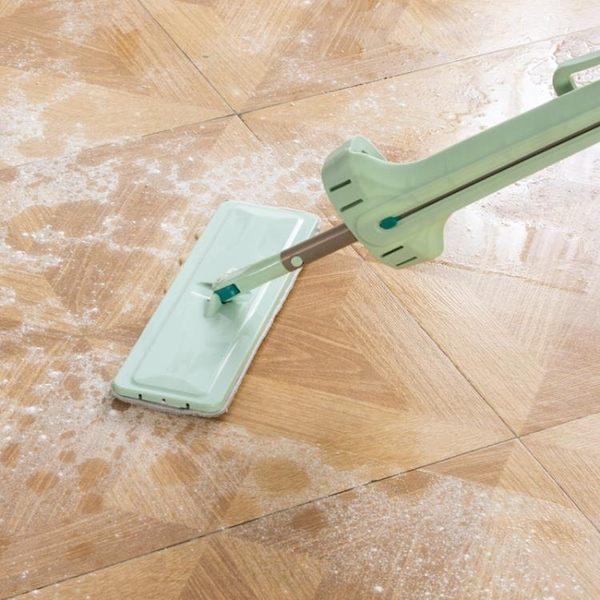 [超豐國際]免手洗拖把頭平板拖布頭替換裝 拖把桿配件地板地拖替換