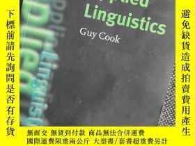 二手書博民逛書店罕見Applied LinguisticsY353226 Guy Cook (Author) Oxford