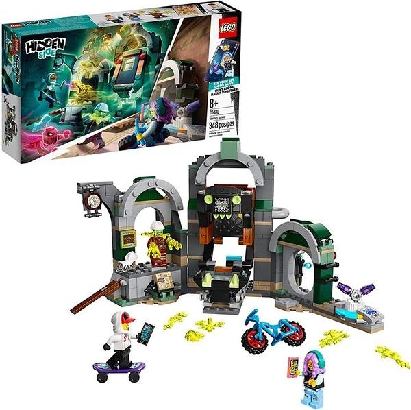 LEGO 樂高 Hidden Side Newbury Subway 70430 Ghost Toy(348件)