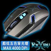 [富廉網] 【FOXXRAY】波霎獵狐光學電競滑鼠 FXR-BM-12