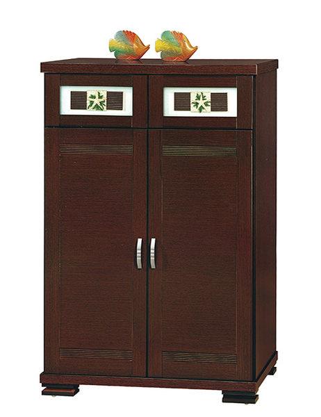 [ 家事達] OA-918-2 A2胡桃海星3×4尺鞋櫃 已組裝 限送台中市/苗栗/彰化/南投縣市