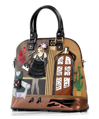 義大利新款時尚創意拼接工藝安娜系列20款手提單肩斜挎女包包-totty0033