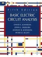 二手書博民逛書店 《Basic electric circuit analysis》 R2Y ISBN:0471365831│DavidE.Johnson
