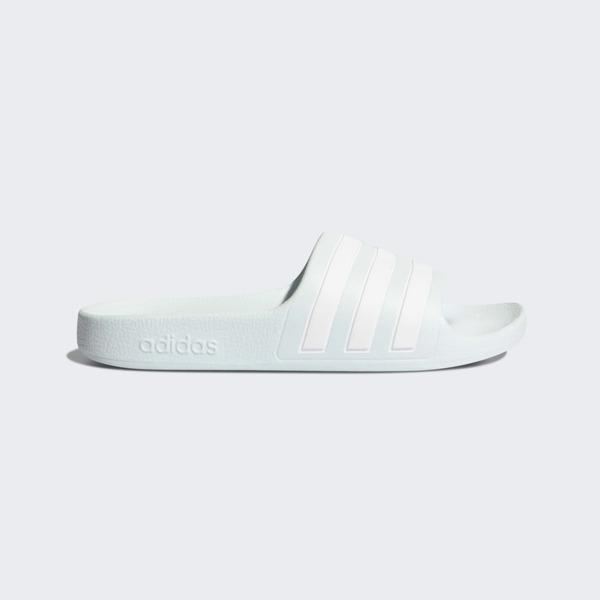 Adidas Adilette Aqua K [FY8073] 中童鞋 涼鞋 拖鞋 休閒 舒適 游泳 愛迪達 淺水藍