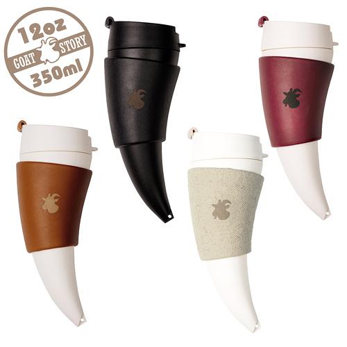 【GOAT STORY】Goat Mug 山羊角咖啡杯 12oz / 350ml(送麻布袋)