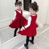 3女童套裝4小女孩秋冬裝7兒童裝套裙5兩件套6洋氣衣服10加厚8歲潮
