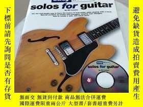 二手書博民逛書店easy罕見blues solos for guitarY241667 見圖 見圖 出版2018