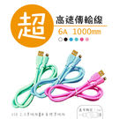 Type-C USB 台灣製造 高速充電傳輸線 (1M) 認證線 支援6.0