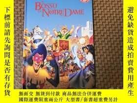 二手書博民逛書店Bossu罕見Notre Dame 迪士尼兒童讀物,精裝Y946
