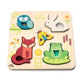 【美國Tender Leaf Toys】動物森林益智拼圖(左右腦啟蒙學習教具)