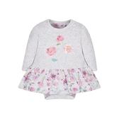 mothercare 白粉長袖包臀洋裝-可愛樂趣(M0MA562)09M、12M、18M